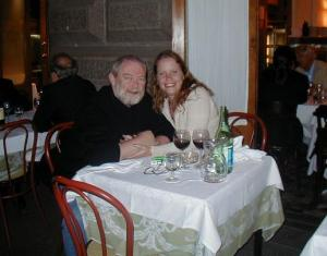 Michelle Parker & IanPJ on Honeymoon in Rome 2006